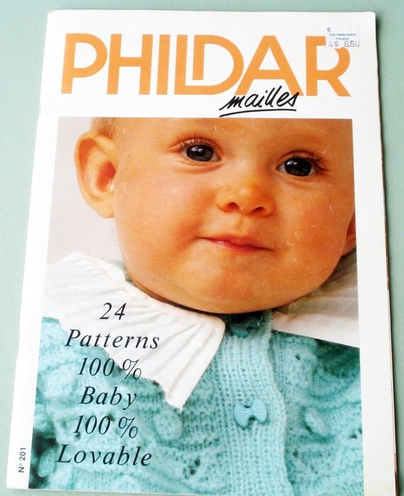 Phildar Mailles Knit Patterns for Babies 24 Lovable by LoveNYarn