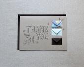 Thank You Botanical - Tiny Envelopes Card