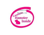 Hamster Inside - Car Decal - Vinyl Car Decals, Window Decal, Signage, Slow Car Decal, Hamster Decal, Hamster Accessories, Laptop Decal