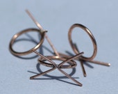Copper Handmade Claw Blank Ring Setting 100% Copper For Natural Stones or Whatever - Size5