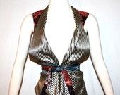 JEAN PAUL GAULTIER Vintage Wrap Vest Bondage Waistcoat - Authentic -