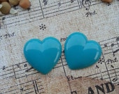 Girly Plugs Blue Heart Gauges