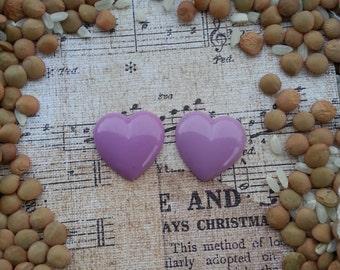 Girly Plugs Light Purple Heart Gauges