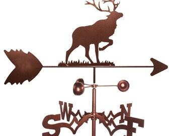Hand Made Elk Caribou Weathervane NEW