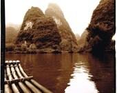 China (boat) silver gelatin photograph