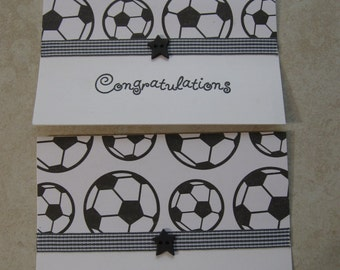 soccer birthday and congrats cards