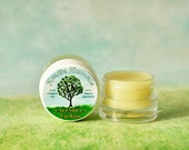 Healing Calendula Lip Balm-with Beeswax & Vitamin E - Parafin-free - Plain or Peppermint