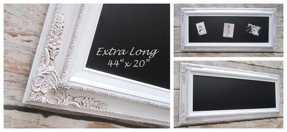 DECORATIVE FRAMED CHALKBOARDS For Home Magnetic By