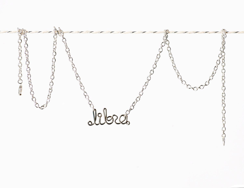 Libra Necklace - Astrology Sign