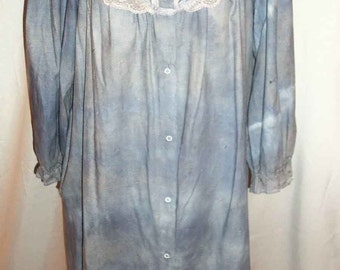 One of a Kind Handmade Halloween Zombie Costume Ghost Grave Walker Nightgown Robe