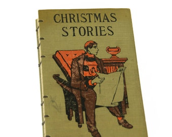 CHRISTMAS STORIES Vintage Lined Notebook Journal