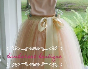 flower girl tutu,  flower girl dress, tulle flower girl dress,  rose gold tutu, rose tutu, blush tutu, gold tutu, rose dress, gold dress