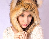 American Red fox Half hat