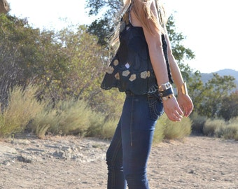HERA Swing Top /// Boho Lux Divine Clothing /// African Lace Swing Top /// S/M/L