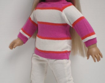 CREAM CORDUROY SKINNY Jeans 18 inch doll clothes