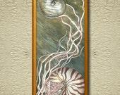 Nautilus - Fine Art Print on heavy Cotton Canvas - unframed