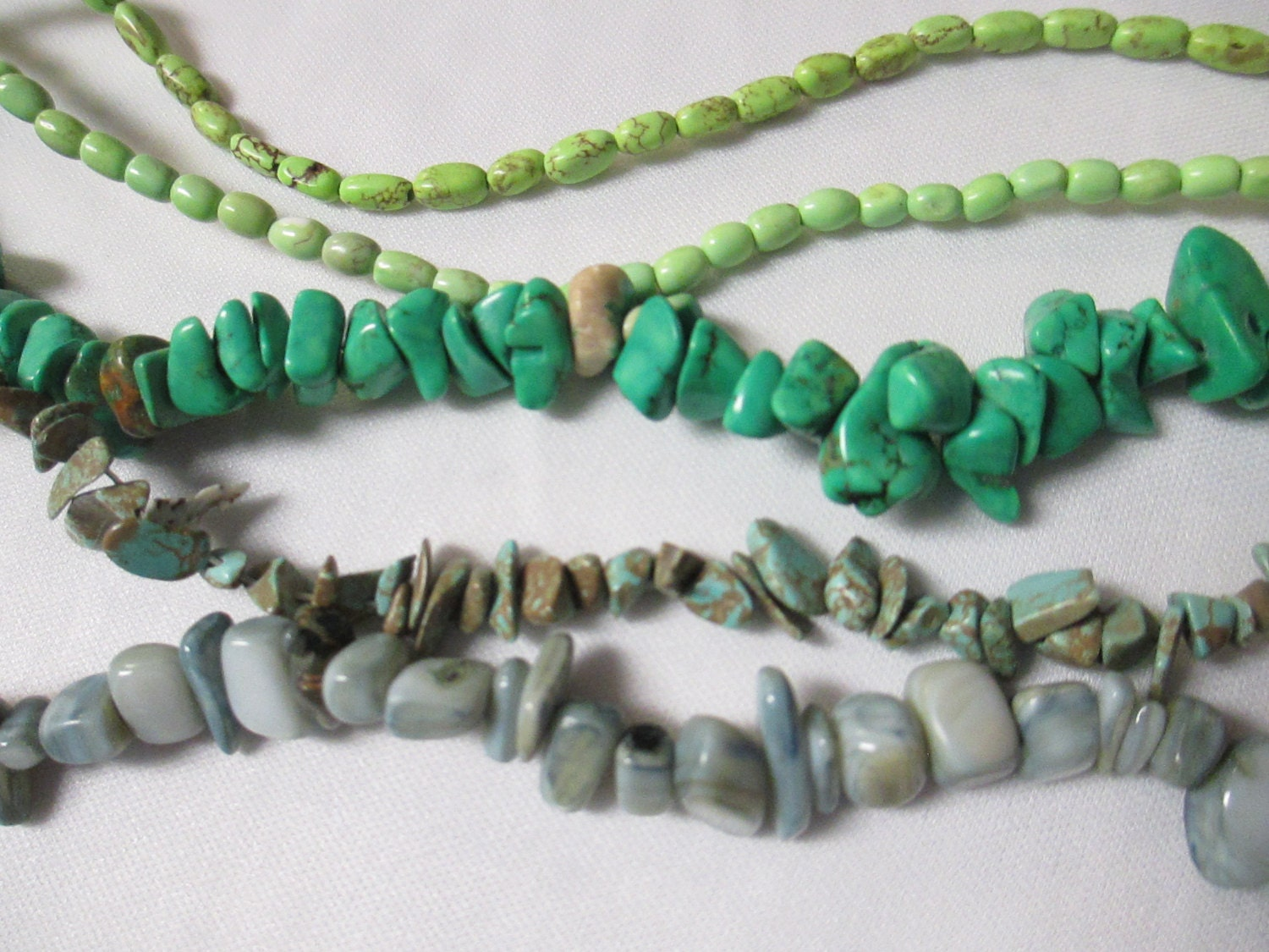 bead assortment nuggets chips 5 16 inch strands by