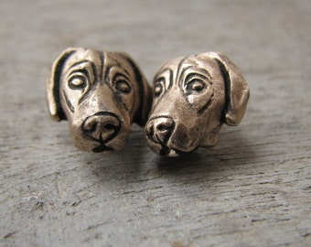 Weimaraner dog earrings