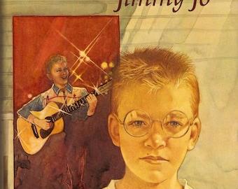 Katherine Paterson Signed Come Sing, Jimmy Jo 1985 HC 1st