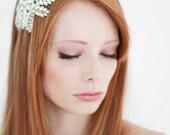 Arabella  Swarovski Crystal Headband  Silver Bridal Headpiece  Wedding
