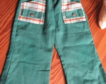 boys pants size T3 DONMOOR Mint condition Flared leg 1970s probably fit smaller
