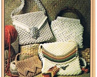Macrame Magazine - Macrame Handbags