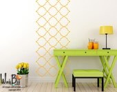 Moroccan style Wall Pattern - Vinyl Wall Decal  - wall stickers set