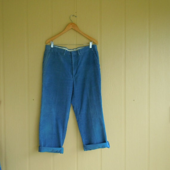 Corduroy vintage mens pants