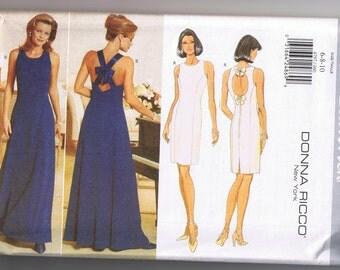 Donna Ricco Butterick Dress Pattern  4797