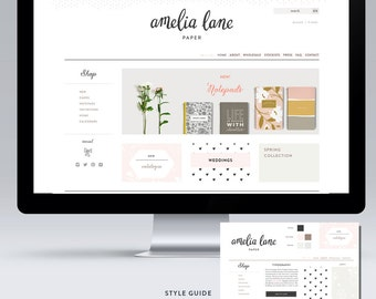 Custom Website Layout Design