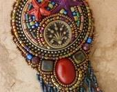 Starfish Mosaic Necklace
