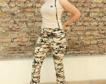 Vintage Dope Military Style Top - Size can fit for XS and S