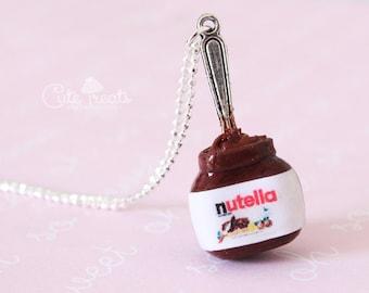 Jumbo Nutella Jar Necklace - Original design by Cute Treats