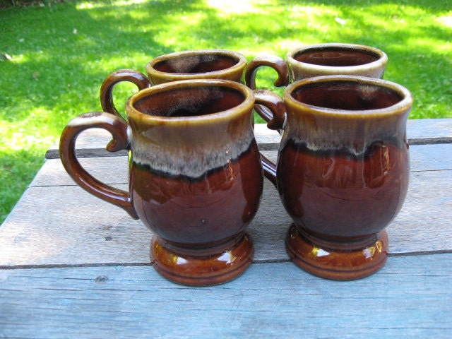 Sale vintage dripware coffee cups mugs pedastal Coffee cups for sale
