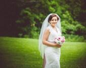Wedding Veil Fingertip Length