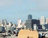 Wall Clock - San Francisco Skyline