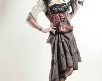 Leather Ladies Strap Belt