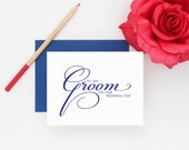 To my groom on our wedding day, Wedding card to your groom, Wedding day card, Elegant