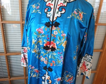 Vintage embroidered chinese jacket perfectly beautiful wedding coat