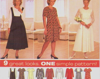 Items Similar To 1950s Dress Pattern Bust 34 Simplicity