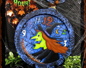 E PATTERN - The Witching Hour! - Fun for Halloween - Designed & Painted by Sharon Bond - FAAP