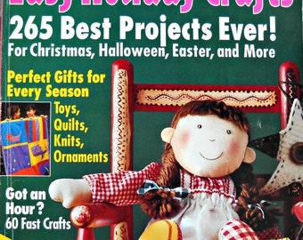 Easy Holiday Crafts Magazine, by Family Circle, Fall 1998
