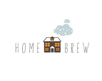 House Logo , customizable Pre-made OOAK, one of a kind logo