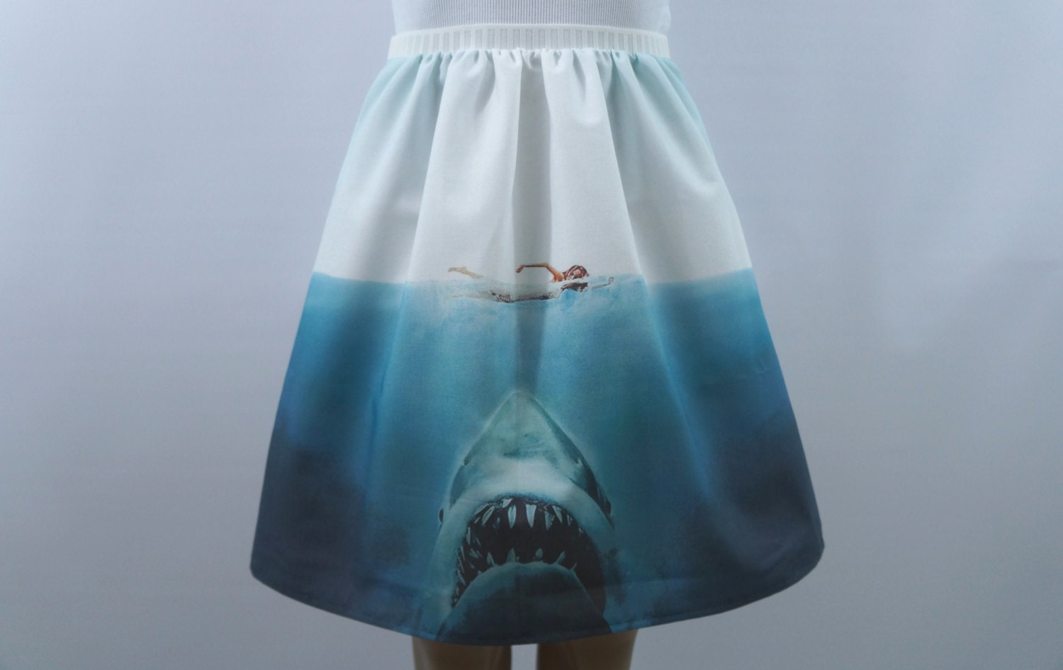 beware of sharks skirt made to order 128270zoom