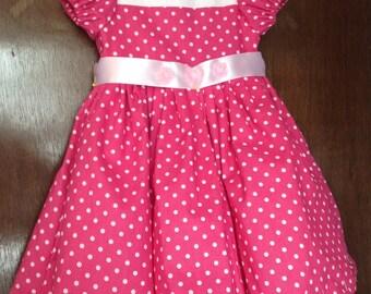 Summer Girls Dress with Petticoat