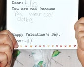 Valentine's Day Cards for Kids, Anti Bully, Kind Words Valentines, School, Classroom, You Print It, Printable, DIY, Instant Download