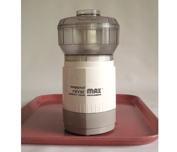 Presto Minnie Max Compact Food Processor 0290001 (As-Is)