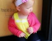 Poncho.Dean- NEW DESIGNS Vintage Retro Tied Knot Headband- Baby Kid Toddler Teen Adult Headband
