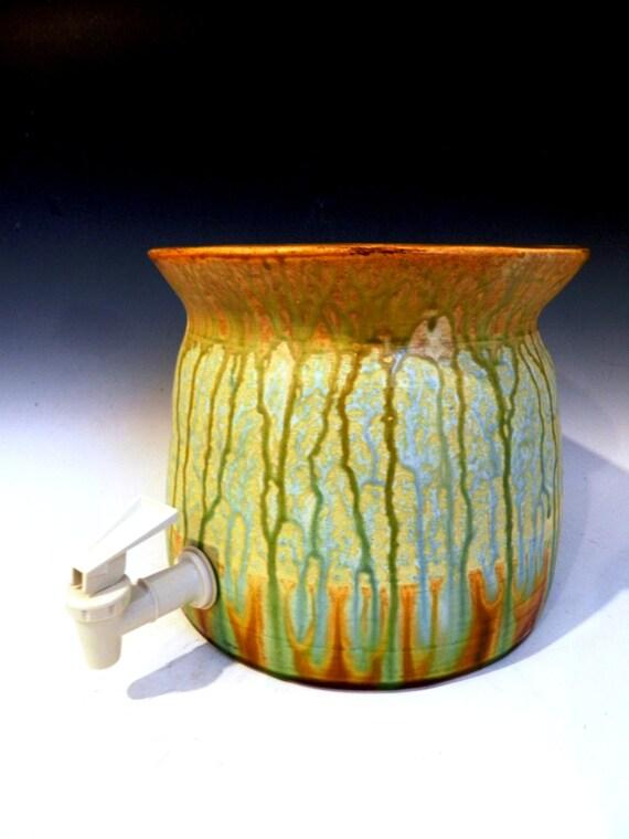 6 Qt Ceramic Kombucha Crock Ready To Ship