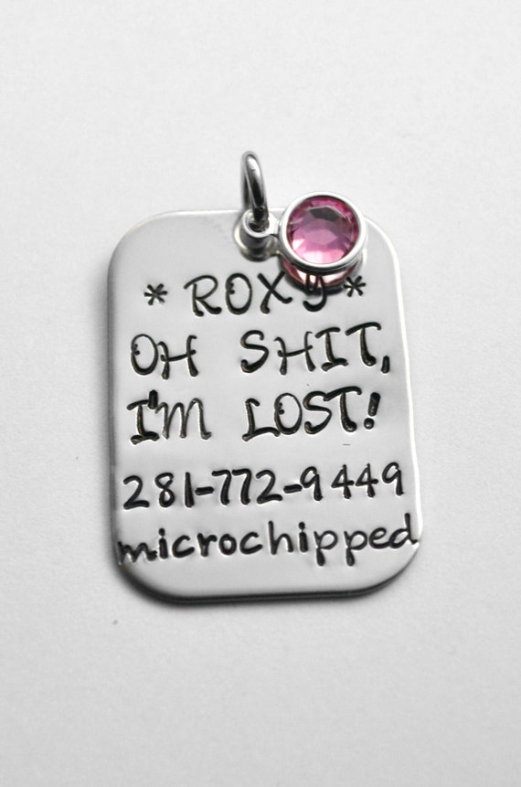 Etsy Lost Pet Id Tags For Cats